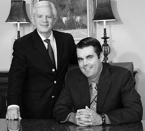 Steve Eustis and Brandon Sanders